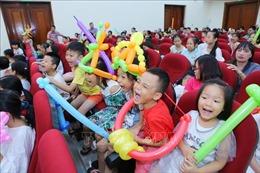 TTXVN tổ chức Lễ tuyên dương học sinh giỏi năm học 2018 - 2019 và chương trình nghệ thuật 'Hè yêu thương'