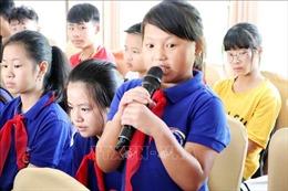 Đại biểu Quốc hội đối thoại, lắng nghe ý kiến của trẻ em ở Lai Châu