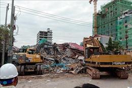 Vụ sập tòa nhà 7 tầng: Ít nhất 25 người  thương vong