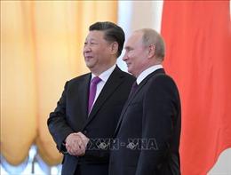 Thêm cú hích cho quan hệ chiến lược Nga - Trung