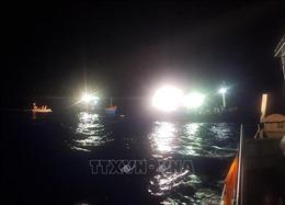Hỗ trợ tìm kiếm 4 thuyền viên mất tích trên vùng biển Cà Mau