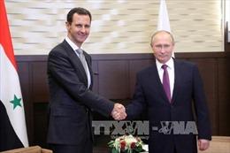 Tổng thống Nga cam kết cùng Syria bảo vệ, tái thiết đất nước