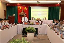 Bộ trưởng Thông tin và Truyền thông Nguyễn Mạnh Hùng làm việc tại Bình Phước