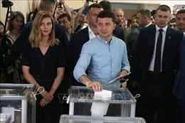 Đảng của đương kim Tổng thống Ukraine giành đa số tuyệt đối tại bầu cử Quốc hội
