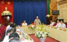 Thường trực Ban Bí thư: Hà Nam cần chuẩn bị tốt việc tổ chức Đại hội Đảng các cấp