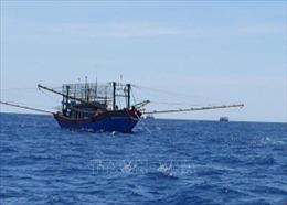 Cứu nạn tàu cá hỏng máy thả trôi trên biển