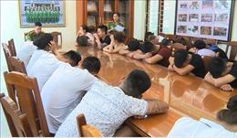 22 thanh niên Thủ đô tổ chức 'tiệc sinh nhật ma túy' ở Sầm Sơn