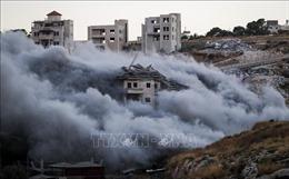 Israel phá hủy lều, trại của người Palestine ở Bờ Tây