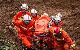 45 người chết, mất tích do sạt lở đất tại Quý Châu, Trung Quốc