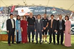 Thuyền buồm 'Ha Long Bay - Viet Nam' tham gia cuộc đua vòng quanh thế giới