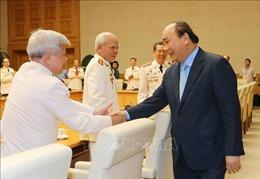 Thủ tướng tiếp đoàn cán bộ công an chi viện chiến trường miền Nam