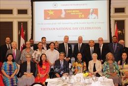 Hoạt động kỷ niệm Quốc khánh 2/9 tại Canada và Hong Kong (Trung Quốc)