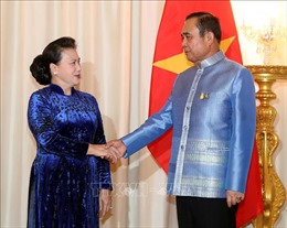 Chủ tịch Quốc hội Nguyễn Thị Kim Ngân hội kiến Thủ tướng Thái Lan