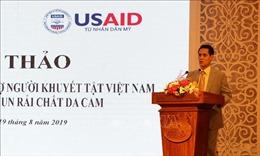Hỗ trợ người khuyết tật tại 7 tỉnh bị phun rải chất độc da cam/dioxin