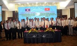Ký kết thỏa thuận hợp tác giữa Quảng Trị với 2 tỉnh của nước bạn Lào