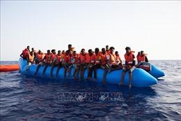 Libya giải cứu 62 người di cư trái phép tại bờ biển phía Tây