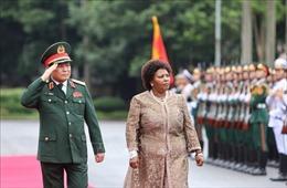 Bộ trưởng Bộ Quốc phòng và Cựu chiến binh Nam Phi thăm chính thức Việt Nam