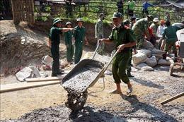 Tuổi trẻ lực lượng vũ trang Sơn La hướng về biên giới