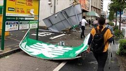 Siêu bão Faxai khiến giao thông Nhật Bản tê liệt