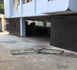 Công an Bình Dương thông tin ban đầu về vụ nổ tại trụ sở Cục Thuế tỉnh
