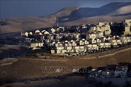 Israel phê duyệt xây hơn 1.900 nhà định cư mới