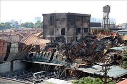 Bộ Tư lệnh Hóa học sẽ tham gia tẩy độc hiện trường vụ cháy Công ty Rạng Đông