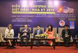 Việt Nam - Hoa Kỳ nỗ lực thúc đẩy hợp tác thương mại song phương