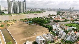Đấu giá quyền sử dụng từng lô đất tại Khu đô thị mới Thủ Thiêm