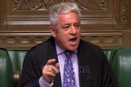 Chủ tịch Hạ viện Anh sẵn sàng 'linh hoạt' để luật ngăn chặn Brexit không thỏa thuận được thực thi