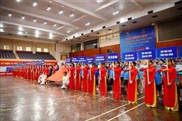 Trên 200 VĐV tranh tài tại Giải bóng bàn Cúp Hội Nhà báo Việt Nam năm 2020