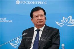Phó Thủ tướng Trịnh Đình Dũng dự Phiên toàn thể Diễn đàn Kinh tế phương Đông tại Nga