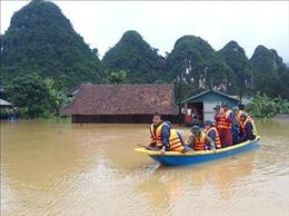 Hơn 90% diện tích tại 'rốn lũ' Tân Hóa ngập sâu 3m