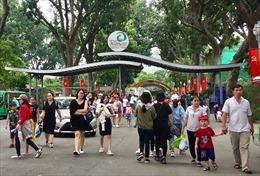 Các điểm đến tại TP Hồ Chí Minh đông nghịt khách tham quan dịp nghỉ lễ 2/9