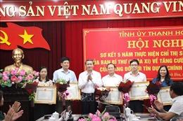 Thanh Hoá tăng cường sự lãnh đạo của Đảng đối với tín dụng chính sách xã hội