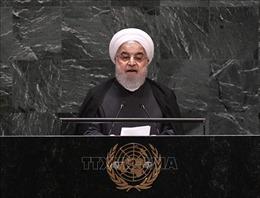 Tổng thống Hassan Rouhani: Iran không dính líu vụ tấn công các cơ sở lọc Saudi Arabia