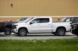 GM triệu hồi hơn 10.000 xe tải do nguy cơ cháy nổ