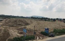 Quảng Ngãi phát hiện thêm hai bãi tạm trữ cát không phép