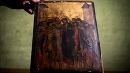 Bức tranh hiếm của danh họa Cimabue đạt giá cao kỷ lục, khoảng 26,6 triệu USD