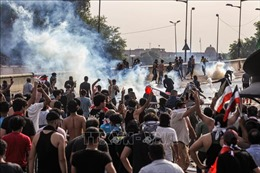 Thêm 10 người biểu tình thiệt mạng tại Baghdad, Iraq