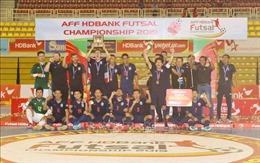 Đội tuyển Thái Lan giành chức vô địch giải Futsal HDBank Đông Nam Á