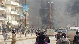 Đánh bom xe nhằm vào một khu chợ ở Syria, ít nhất 8 người thiệt mạng
