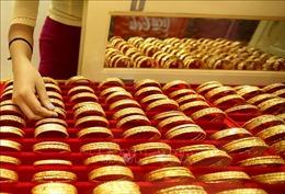 Giá vàng châu Á ghi nhận phiên giảm thứ ba liên tiếp