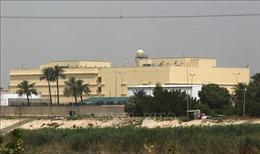 Tên lửa rơi gần Đại sứ quán Mỹ tại Iraq