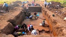 Đề xuất khẩn cấp 'cứu'di chỉ khảo cổ học Vườn Chuối,Hà Nội