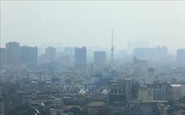 Ô nhiễm bụi ở Hà Nội tăng dần qua các ngày trong tuần đầu tháng 11