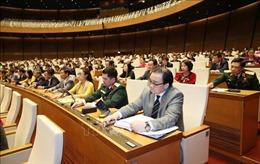 Thông qua Nghị quyết thí điểm tổ chức mô hình chính quyền đô thị tại TP Hà Nội