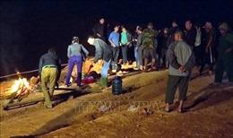 Trượt chân xuống hồ nước, hai học sinh bị đuối nước thương tâm