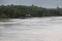 Lũ trên các sông từ Bình Định đến Phú Yên đang lên