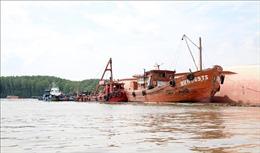Vụ chìm tàu trên sông Lòng Tàu: Giải phóng luồng hàng hải Sài Gòn - Vũng Tàu