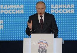 Đảng Nước Nga thống nhất xây dựng cương lĩnh mới hướng tới bầu cử Duma 2021